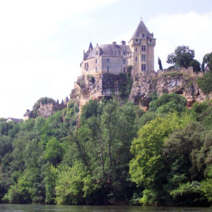 Chateau Monfort on the Dordogne